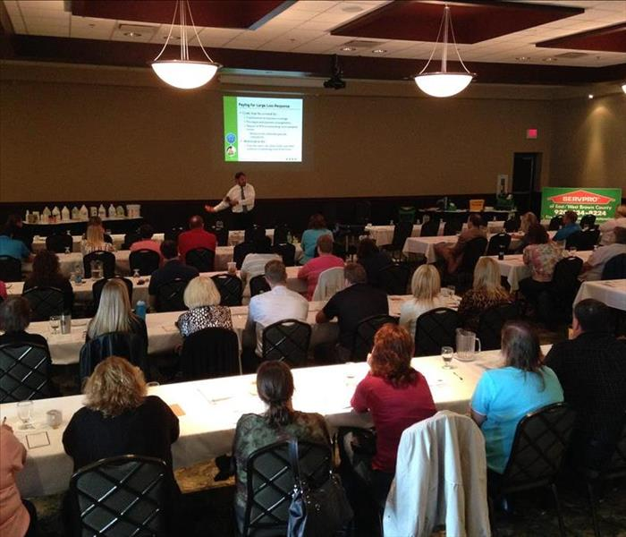 SERVPRO of East / West Brown County CE Class in Green Bay, WI
