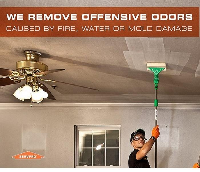Odors bothering you in Green Bay, WI?  Call SERVPRO