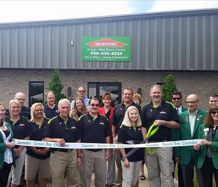 SERVPRO of East and West Brown County has Ribbon Cutting Ceremony