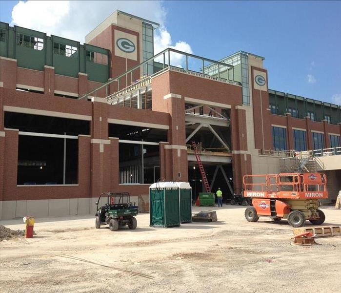 SERVPRO Takes Care of Water Damage at Lambeau Field