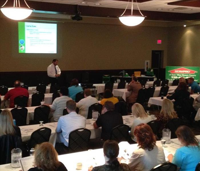 SERVPRO of West Brown County Holds CE Classes for Insurance Professionals