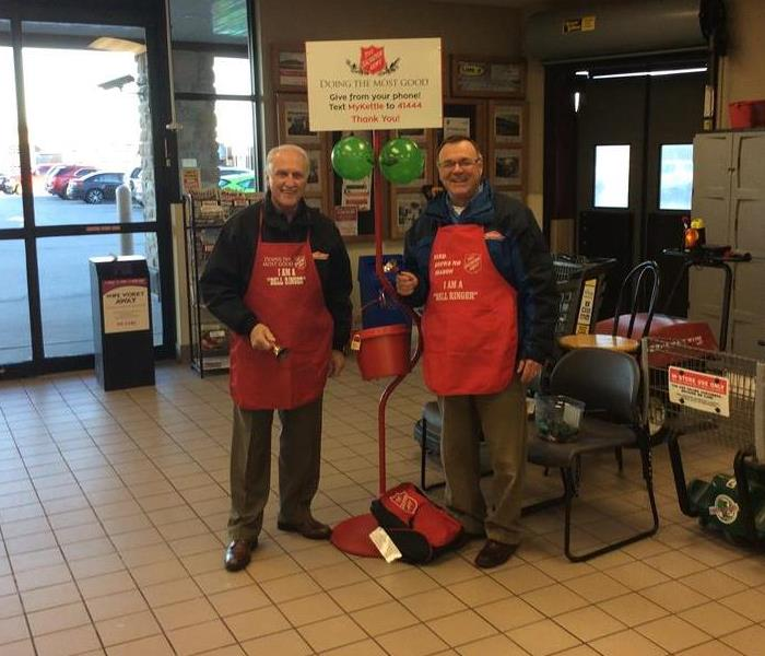 SERVPRO Supports the Salvation Army