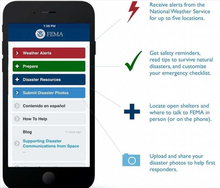 Storm Damage Preparing for the Worst: the FEMA App