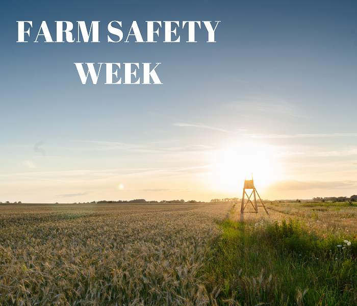 Community Reminders for Farm Safety Week 2018