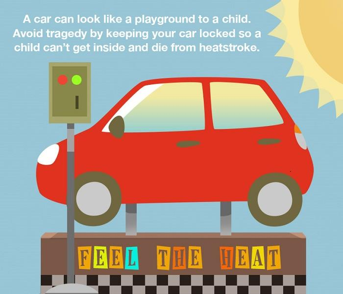 Community Summer Safety for Hot Cars