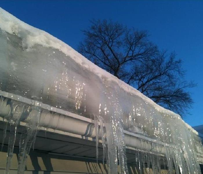 Water Damage The Danger of Ice Dams