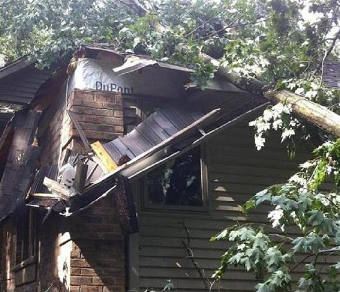Storm Damage When Storms or Floods hit the Green Bay area, SERVPRO is ready!