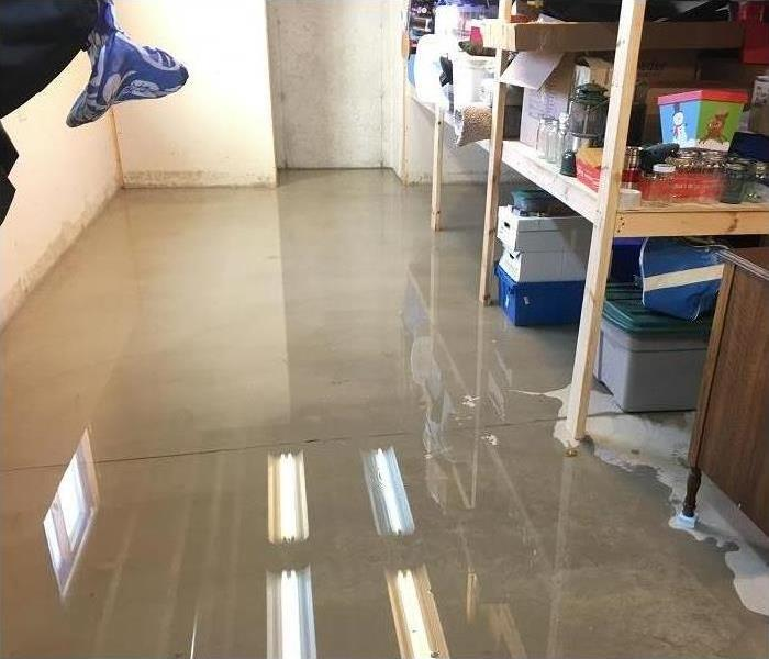 Water Damage Green Bay Area Residents: We Specialize in Flooded Basement Cleanup and Restoration!
