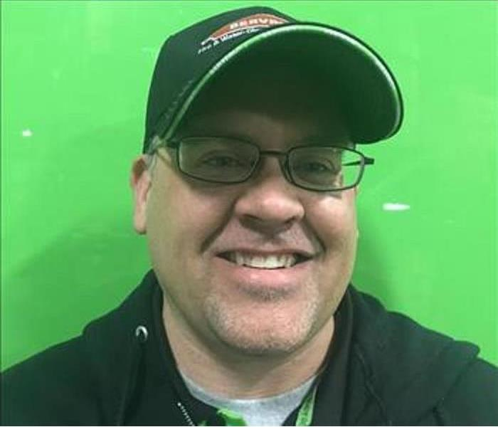 General Meet Jason Jilg: Reconstruction Project Manager for SERVPRO of West Brown County