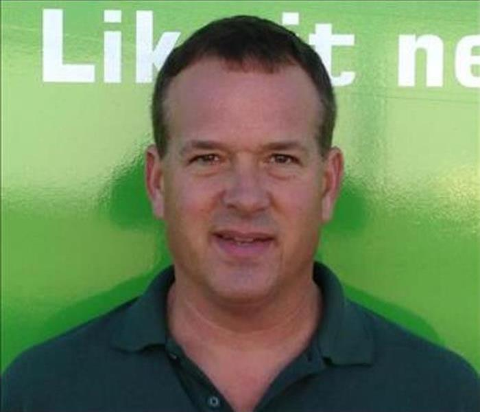 General Meet Bill Miner: Production Manager at SERVPRO of West Brown County