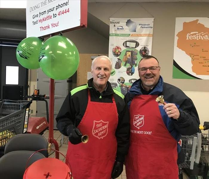 Community Bell Ringing for the Salvation Army